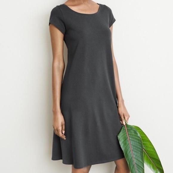 cf22989bfd Eileen Fisher Dresses   Skirts - Eileen Fisher Organic Cotton Gray T-Shirt  Dress M